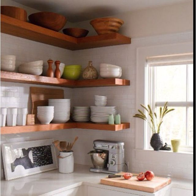 more floating shelves i am really beginning to love this on floating shelves kitchen id=58263