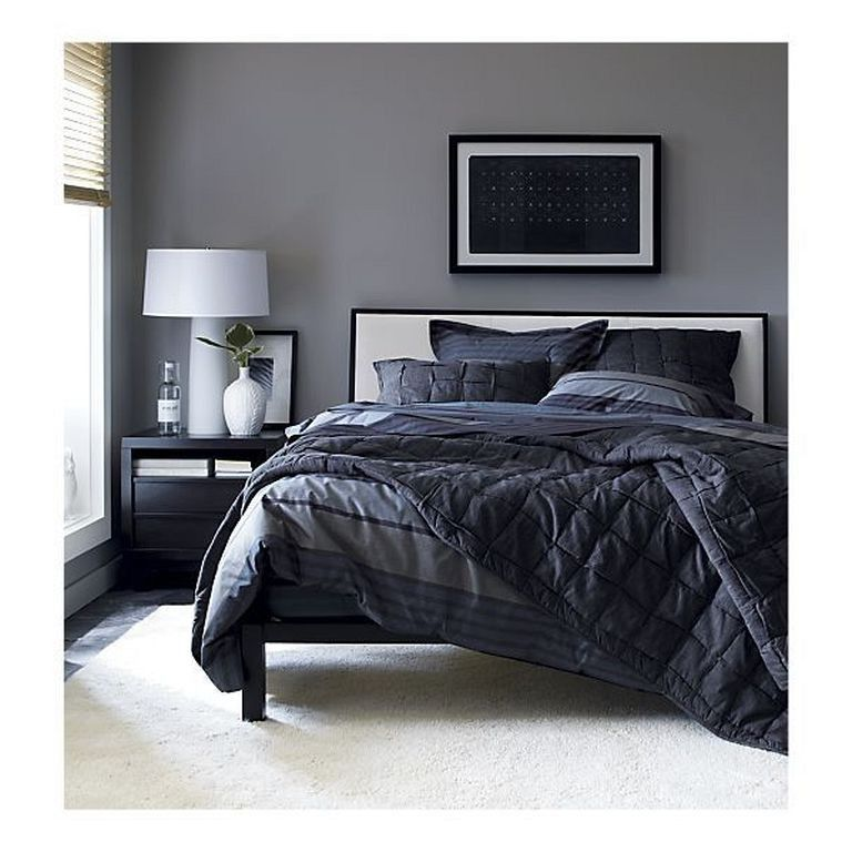 Minimalist Bedroomdesign Ideas: 32+ Cozy Modern Minimalist Black And Grey Bedroom Decor