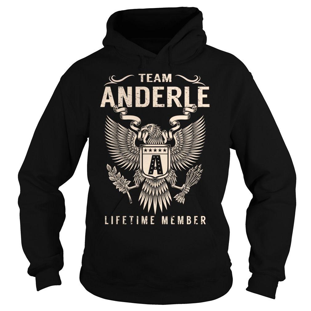 Team ANDERLE Lifetime Member - Last Name, Surname T-Shirt