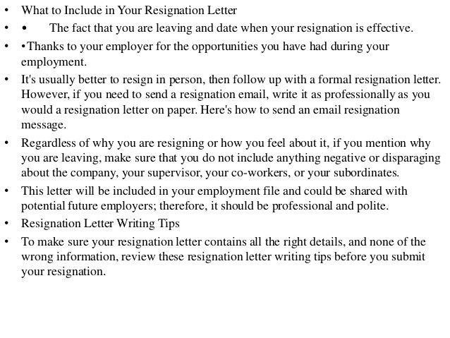 resignation letter how write resigning sample Home Design Idea - free resignation letter