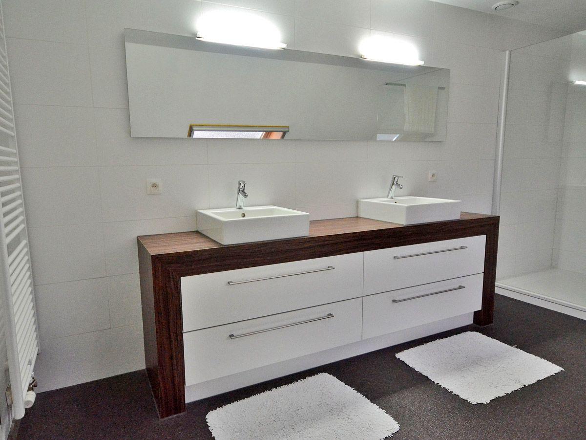 Badkamer: meubel op maat op maat - Ontwerp badkamermeubels | Huisjes ...