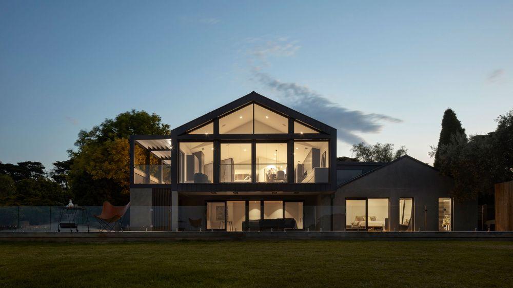 The Modern Australian Homestead Gable House Sydney House Barn House Plans