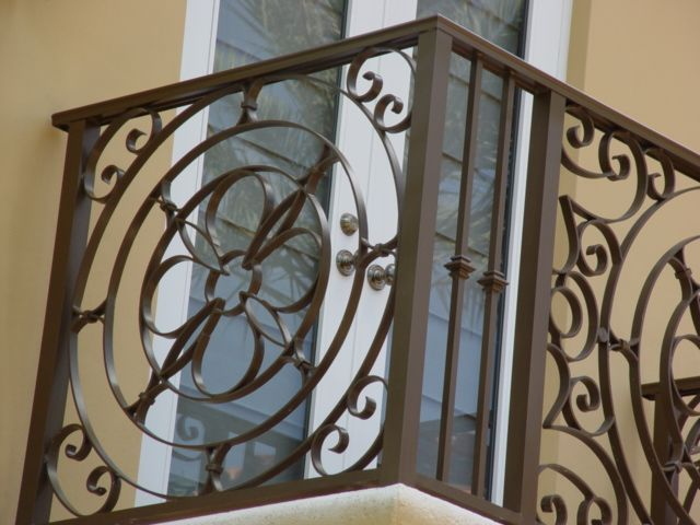 Decorative Accessories Iron Railings From The Gothic Revival Time