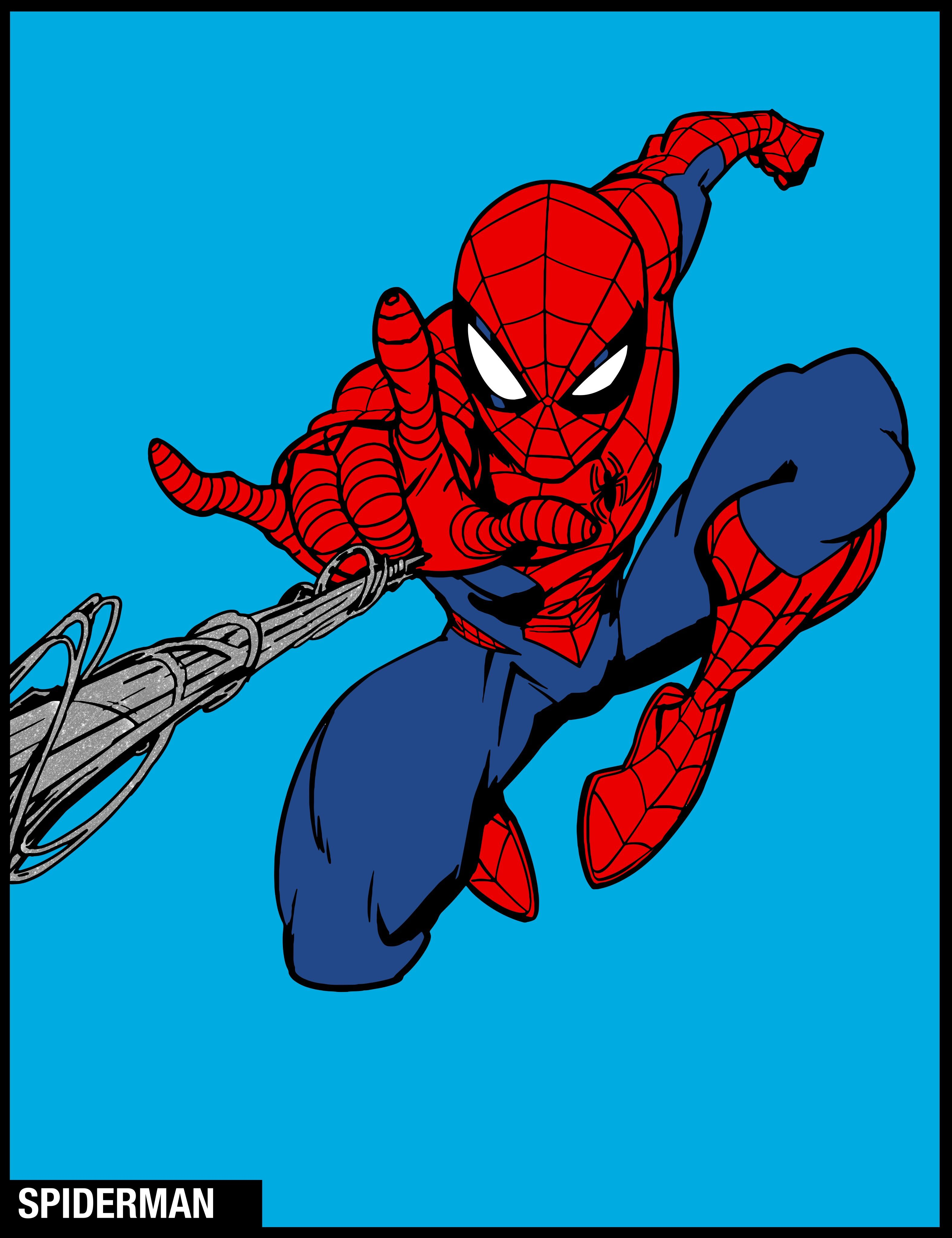 Made In Marvel Color Your Own Marvelcoloring Spiderman Art Spiderman Tattoo Spiderman