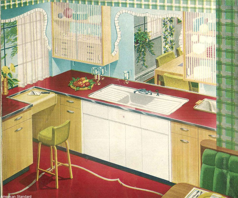 14 Clever Vintage Kitchen Designs We Wish They D Bring Back 12 Tomatoes Vintage Kitchen Redo Kitchen Cabinets Vintage Interiors