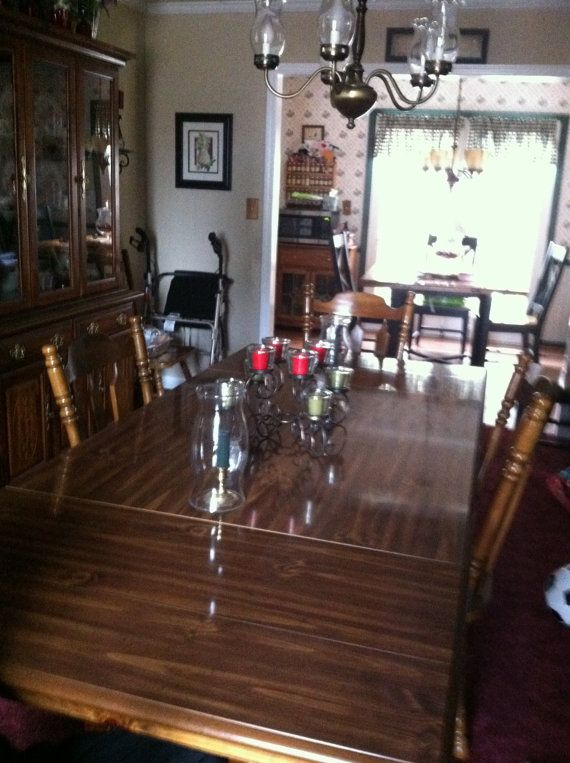 Hey, $50 off thru end of the month  awesome Etsy listing at https://www.etsy.com/listing/158784068/vintage-dining-room-table-local-pick-up