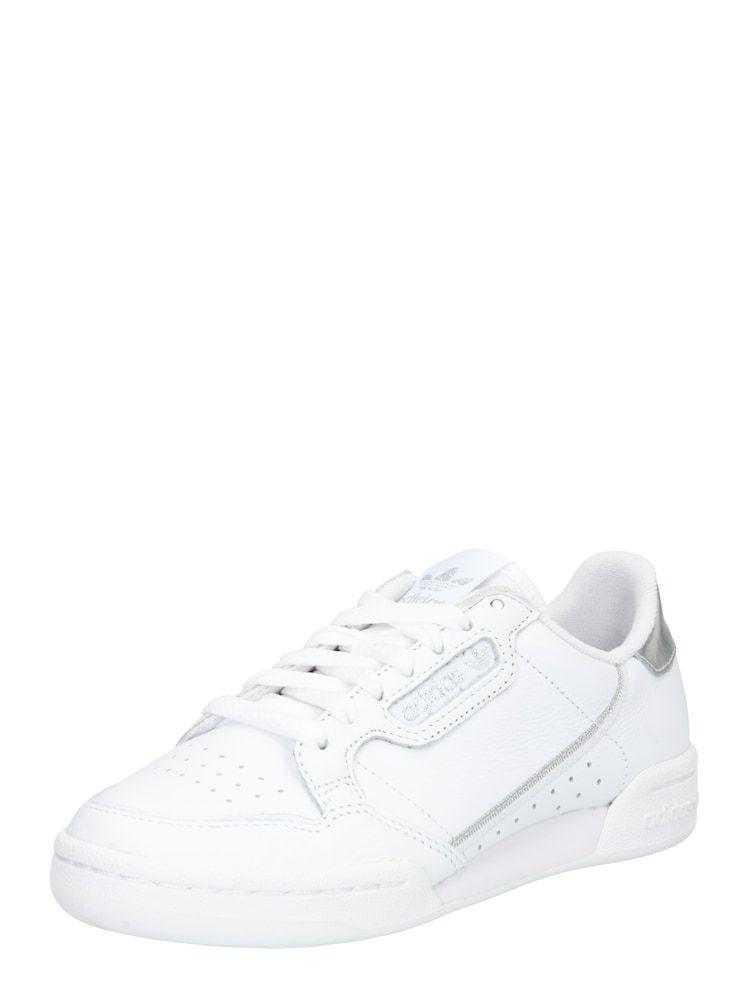 ADIDAS ORIGINALS Sneaker 'Continental 80' Damen, Silber ...