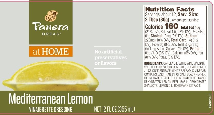 The Updated Nutrition Facts Label Provides The Serving Size And Calories In Bold To Emphasize This Inform Panera Calories Nutrition Facts Nutrition Facts Label