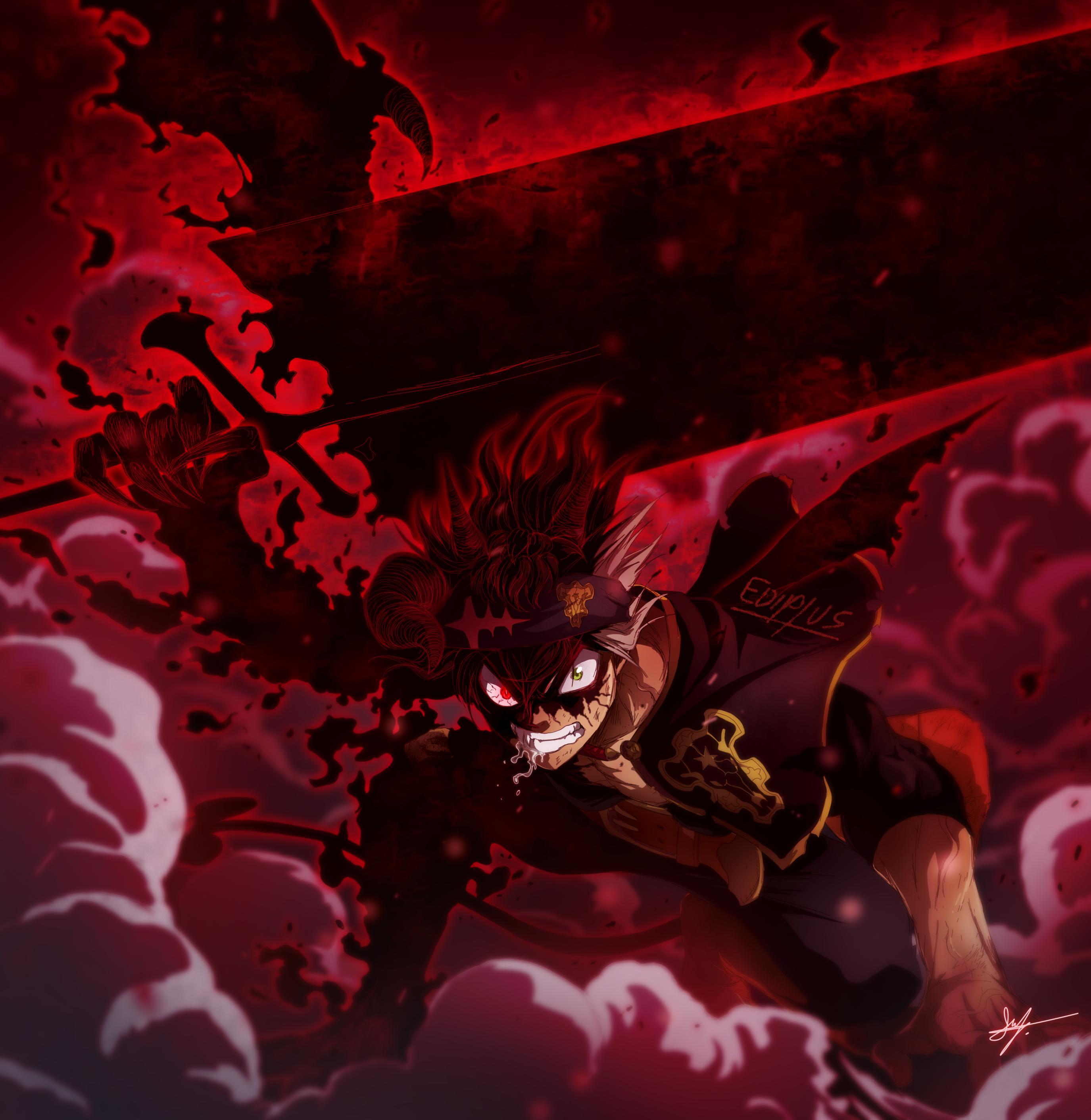 Asta Black Clover Capitulo 242 Manga Black Clover Anime Black Clover Manga Dark Anime
