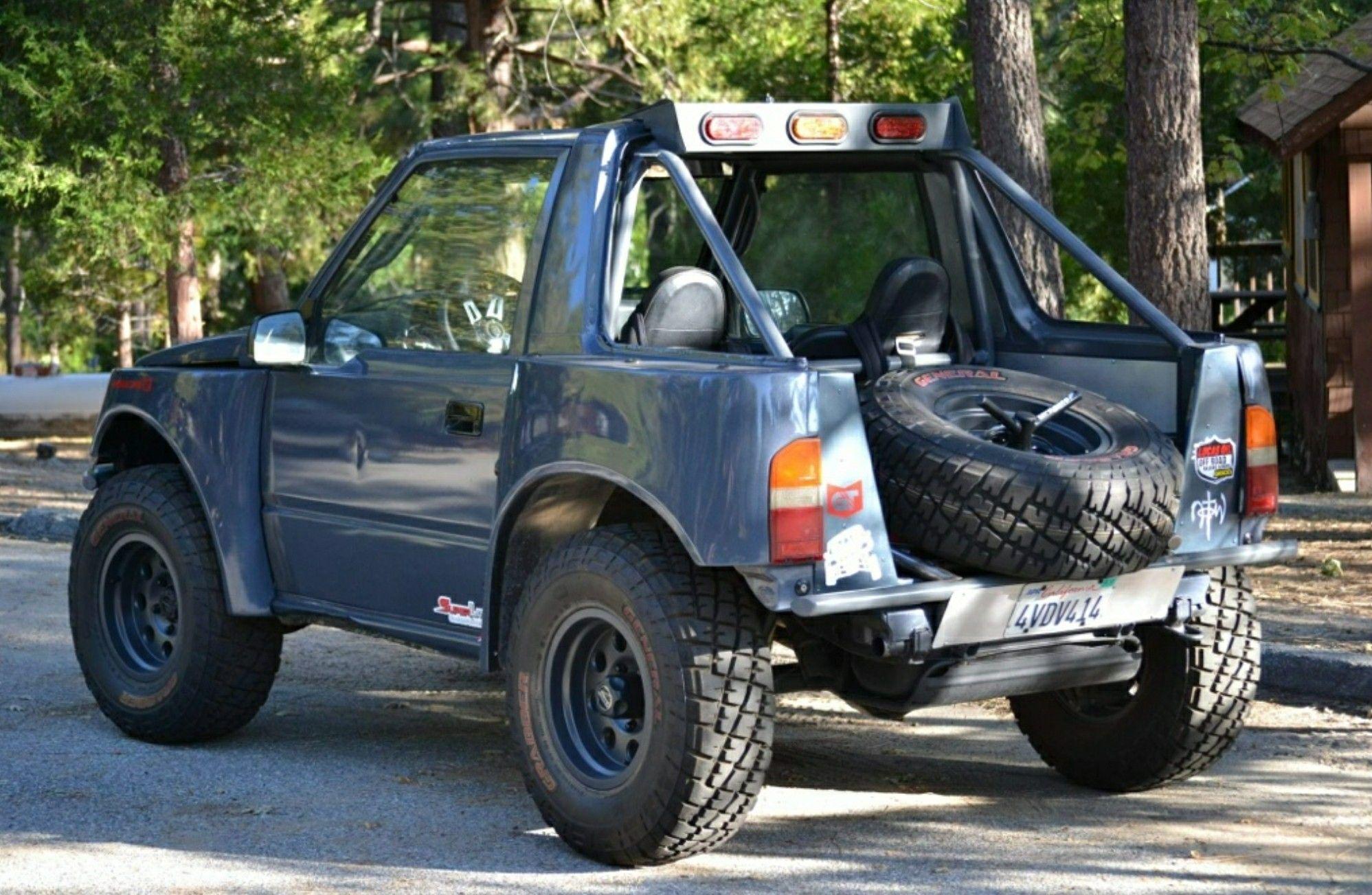 Suzuki Sidekick Prerunner Suzuki Vehicles Monster Trucks 4x4