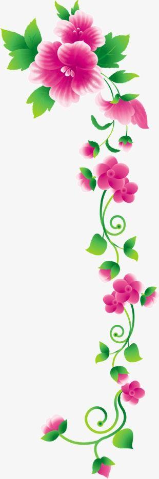 Decoraciones de flores y enredaderas flores vid adorno for Rosas de decoracion