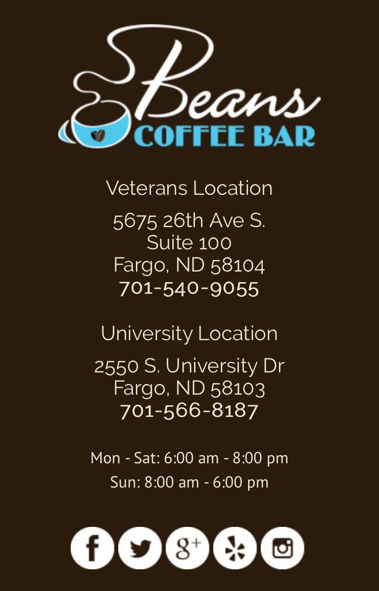 Beans coffee house in Fargo, ND   Sweet Home North Dakota ...