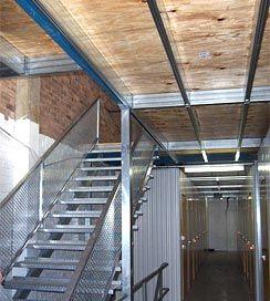 Boxspan elik asma kat uzay ve depolama sorunlar n n for Wood mezzanine construction plan