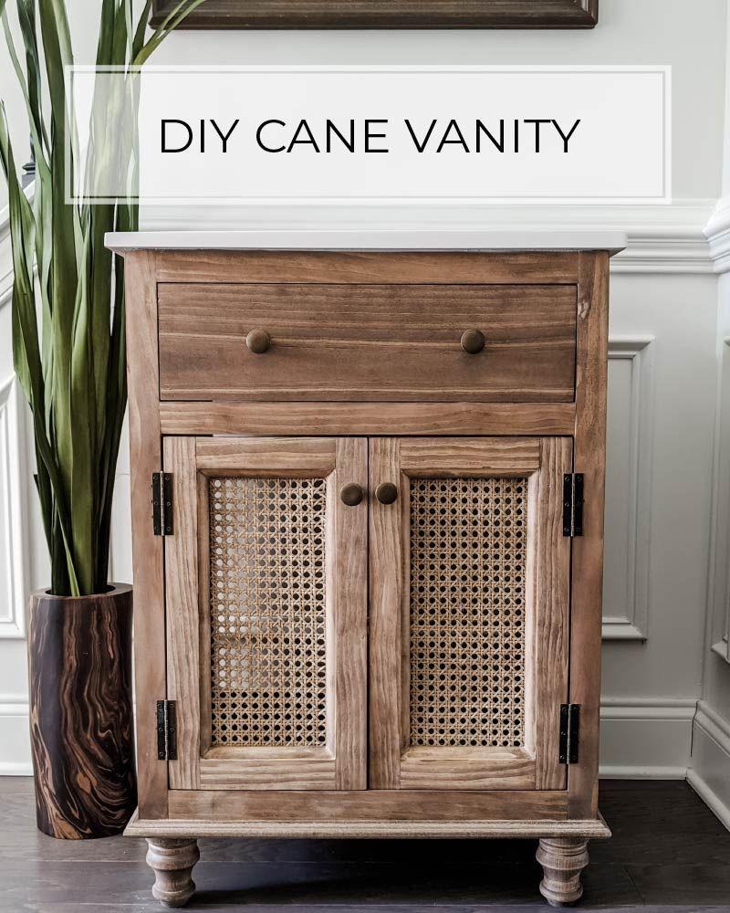 24 Diy Cane Bathroom Vanity Crafted By The Hunts 24 Inch Bathroom Vanity Small Bathroom Vanities Buy Bathroom Vanity [ 1000 x 800 Pixel ]
