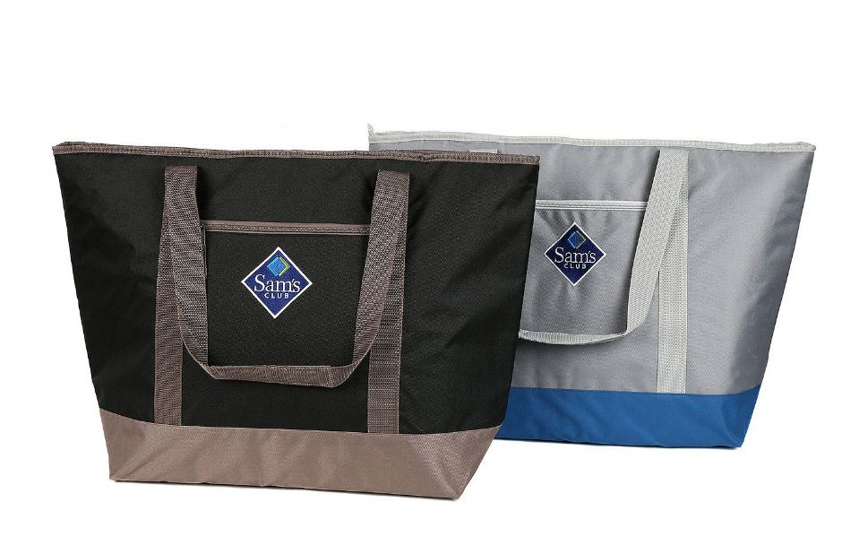 2pack Sam S Club Jumbo Cooler Tote Black Insulated
