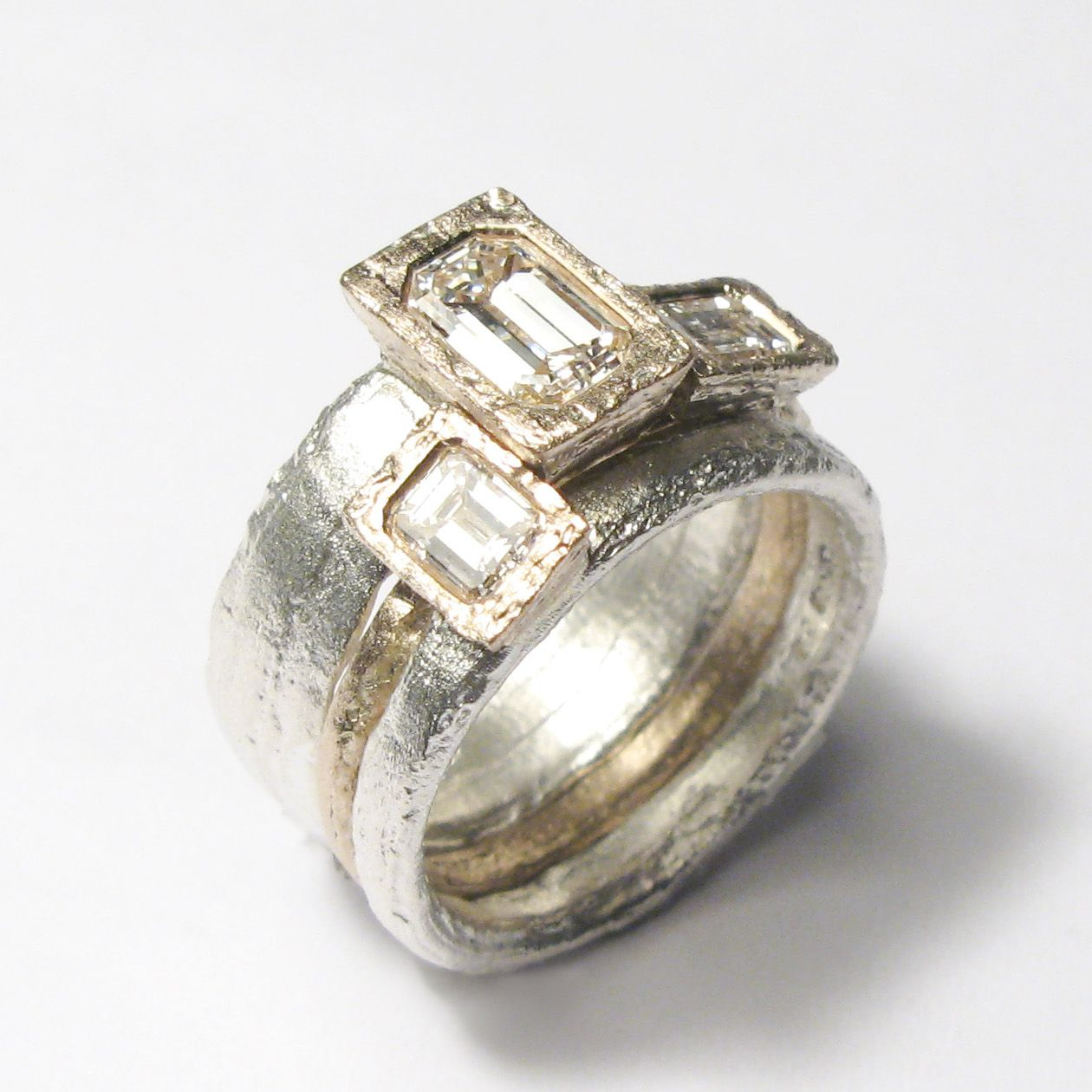 contemporary the bride brothers ring robbins top modern quirky rings wedding engagement from for