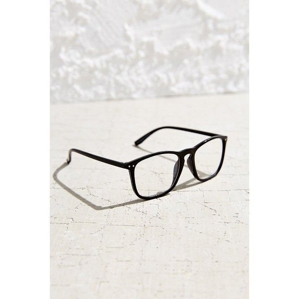 BDG Campus Readers (200.145 IDR) ❤ liked on Polyvore featuring accessories, eyewear, eyeglasses, fake eye glasses, reading glasses, rectangular glasses, rectangular eyeglasses and reading eye glasses