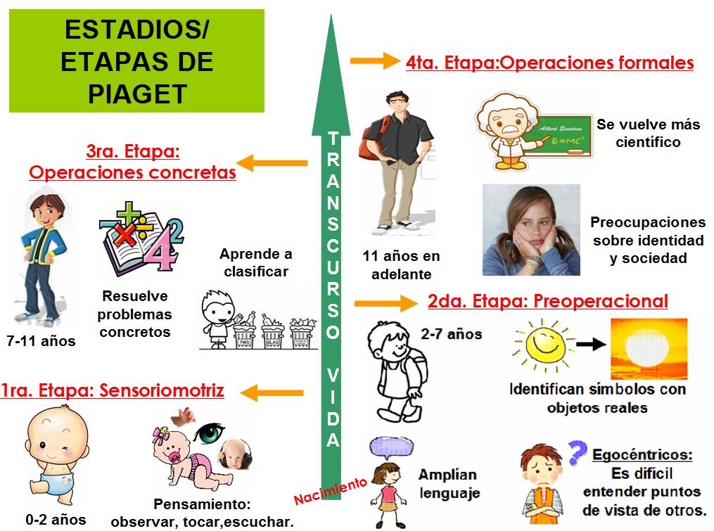 Estadios cognitivos de piaget pdf