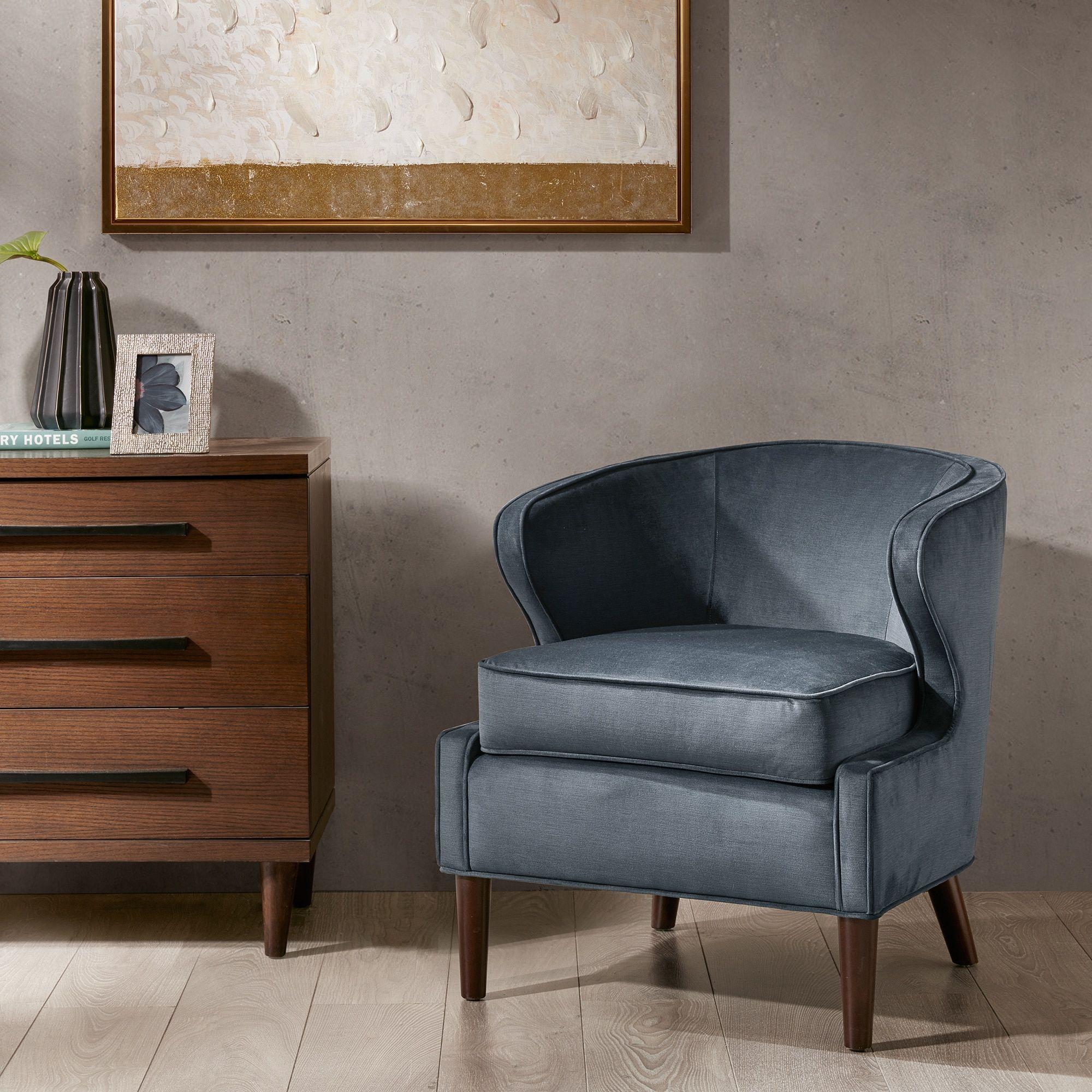 Madison Park Skye Slate Barrel Accent Chair F Akzentstühle Möbel Outlet Bett