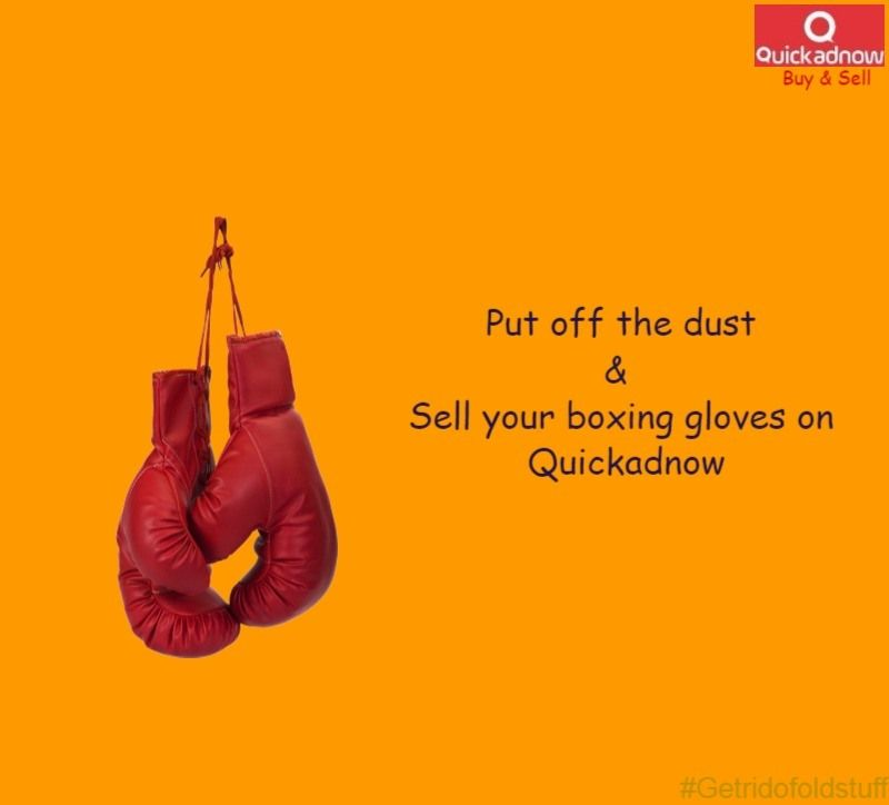 Remove Dust From Your Boxing Gloves Make Them Usable To Someone Else So Sell Your Boxing Gloves At Quickadno Boxing Gloves Things To Sell Online Marketing