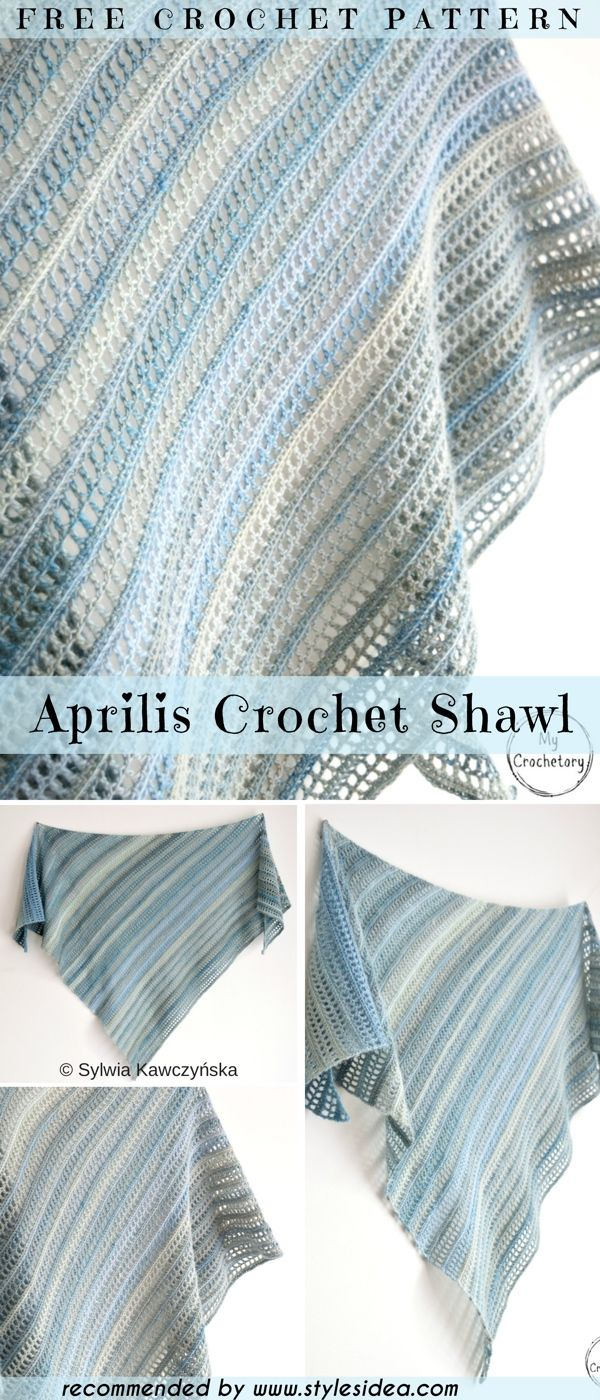 Stunning Evening Shawls Free Crochet Pattern | Crochet, Shawl and ...