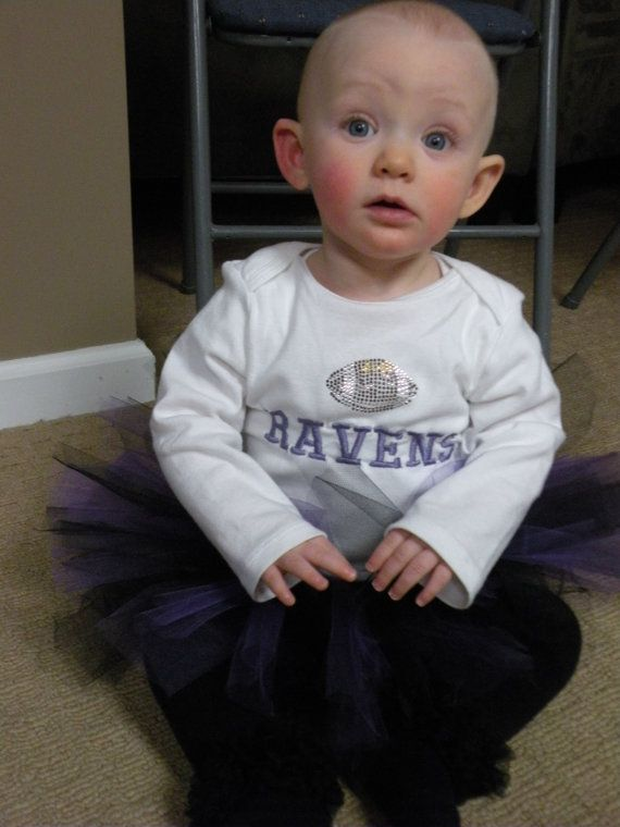 e8942dd3 Baltimore Ravens baby Girl outfit/ super bowl/ tutu purple and black ...
