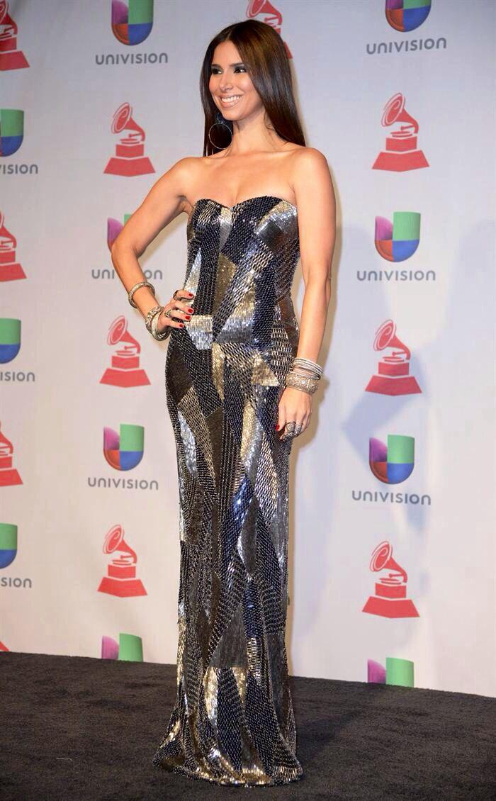 Roselyn Sánchez. Green Carpet Latin Grammy Awards 2013