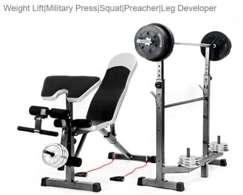 Au 399 99 In 2020 Weight Benches Squat Rack Adjustable Weight Bench