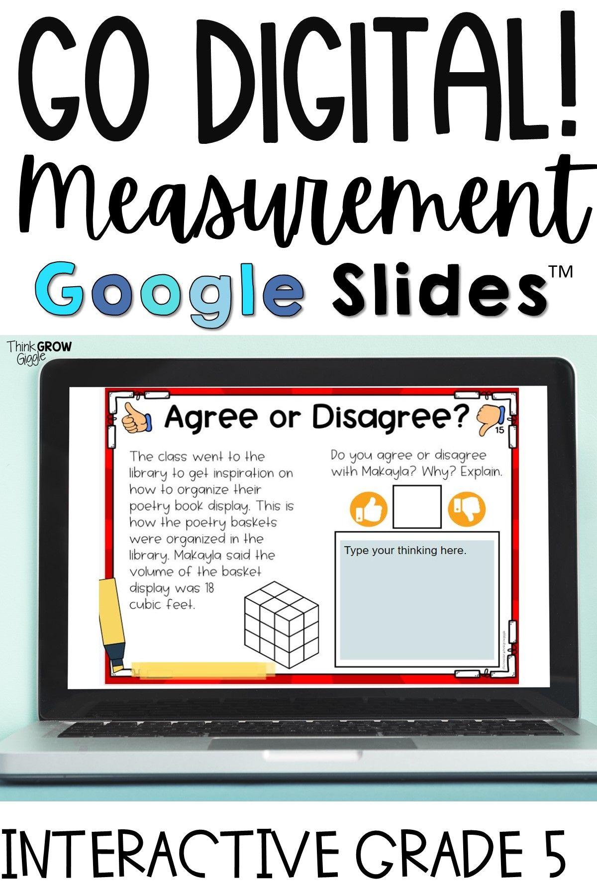 Digital Learning Measurement Activities In
