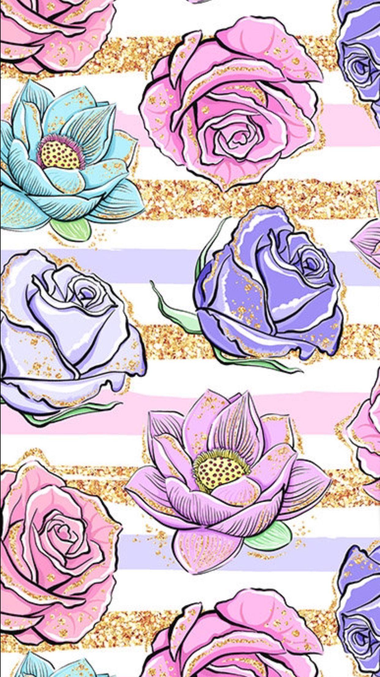 خلفيات ورد Flower Phone Wallpaper Floral Wallpaper Flowery Wallpaper