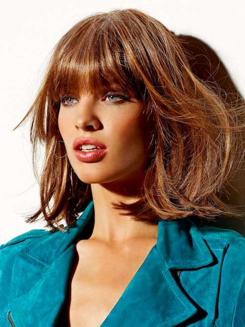 Bob Haircut And Hairstyle Ideas Bob Hairstyles With Bangs Hair Styles Hairstyles With Bangs