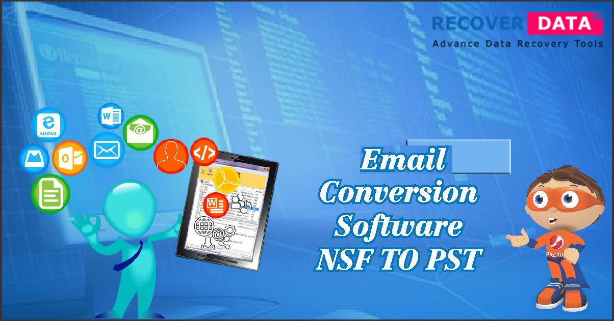 NSF to PST Converter software diligently performs the
