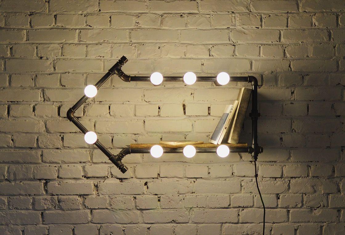 лампа в стиле лофт своими руками - Поиск в Google | Бирюзовый цвет ...