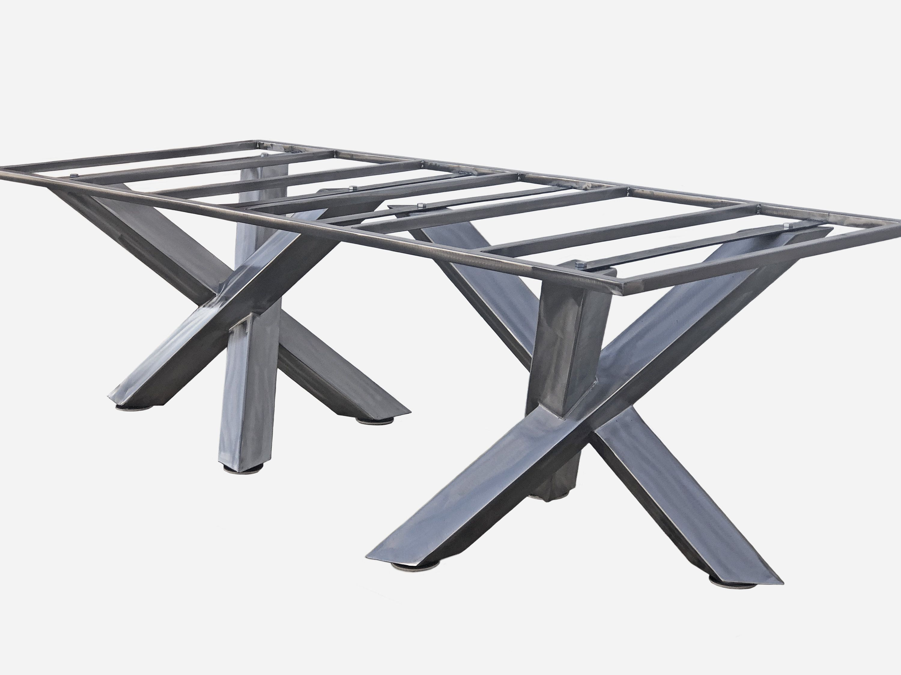 Custom conference tables or dining tables metal table base for