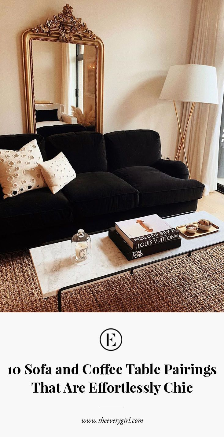 Photo of 10 Sofa and Coffee Table Pairings That Are Effortlessly Chic