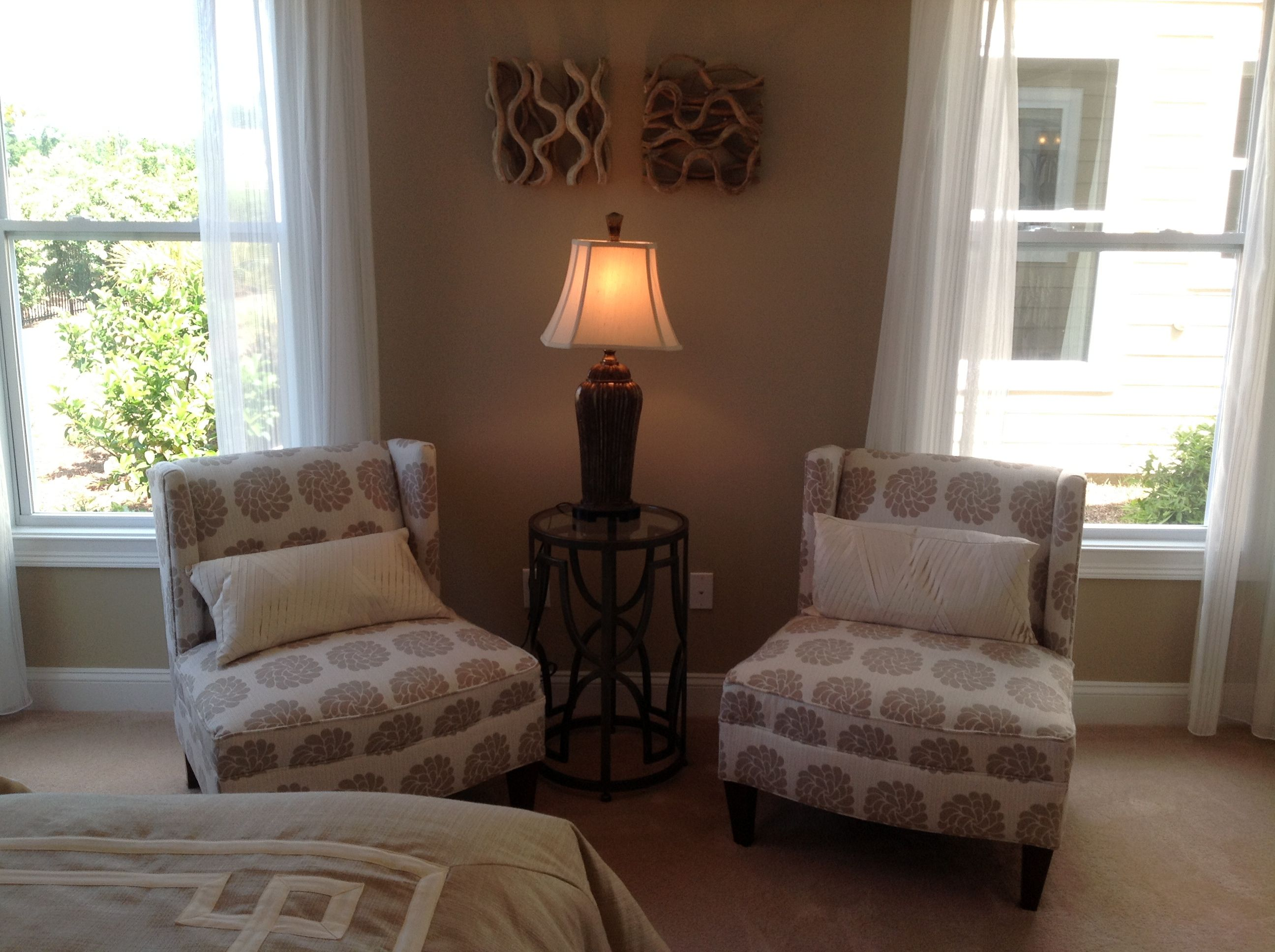 Bedroom sitting area | For the Home | Pinterest