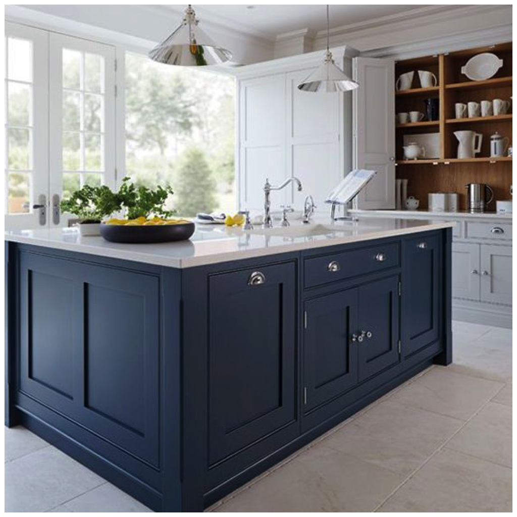 Best 4 Ways To Use Navy Blue In Your Kitchen Blue Kitchen 400 x 300