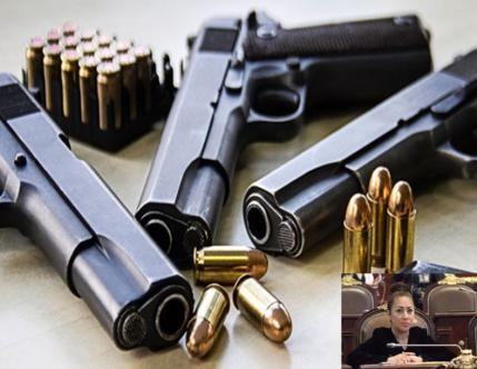 Reclaman intensificar el combate a la venta ilegal de armas en la Ciudad de México El 64% de los presos por delitos federales en cárceles de la capital, están por portación de armas de fuego y expl…
