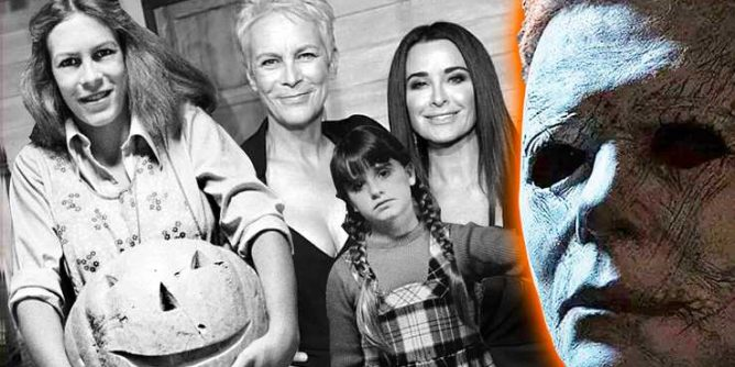 Jamie Lee Curtis Gives Kyle Richards' Halloween Kills