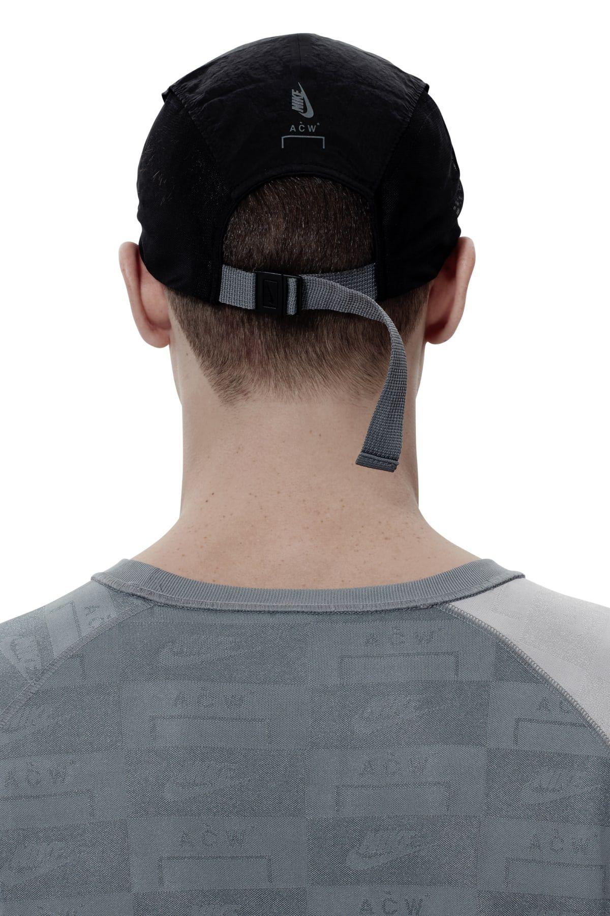 013424750 Nike x ACW  - Onyx Technical Dual Nylon Cap - A-COLD-WALL