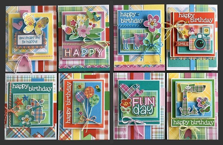 Happy Day Card Kit Kim S Card Kits Handmade Greeting Card Kit