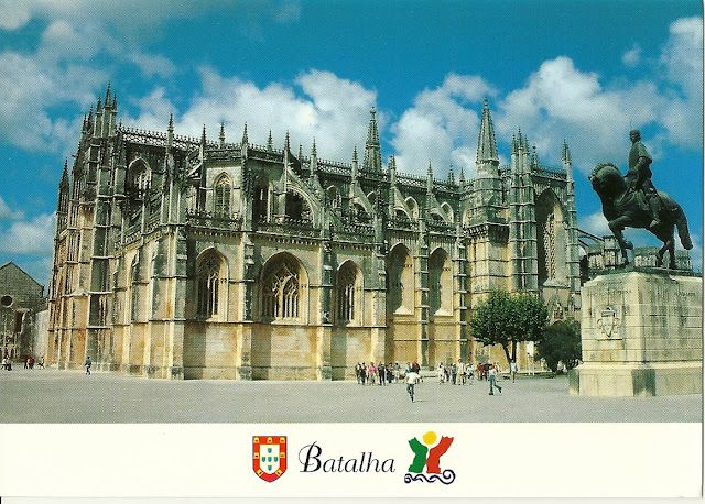 UNESCO. Batalha Monastery in Lisbon - UNESCO (PORTUGAL)