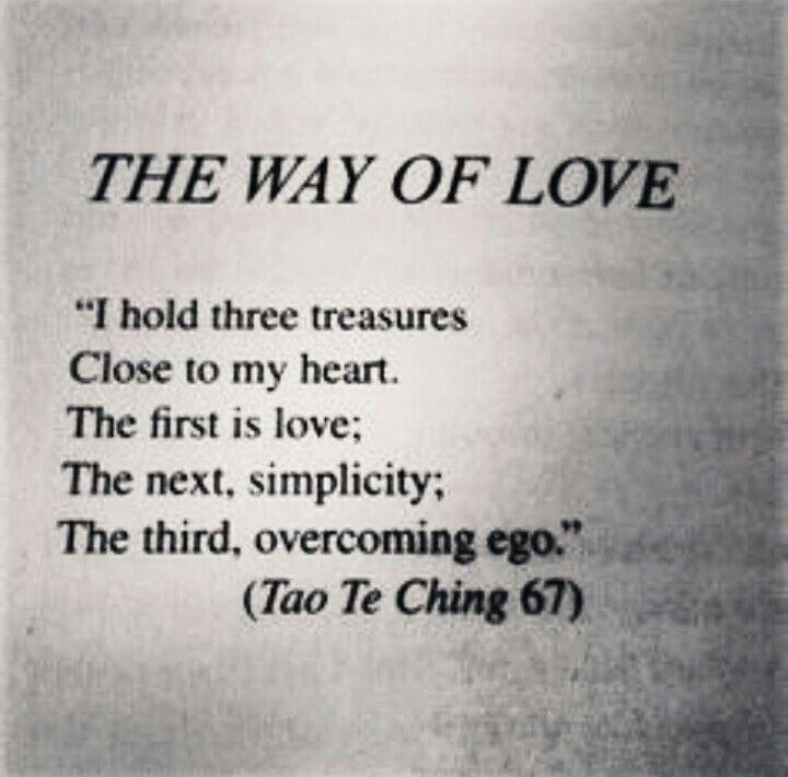 On love quotes tao Lao Tzu