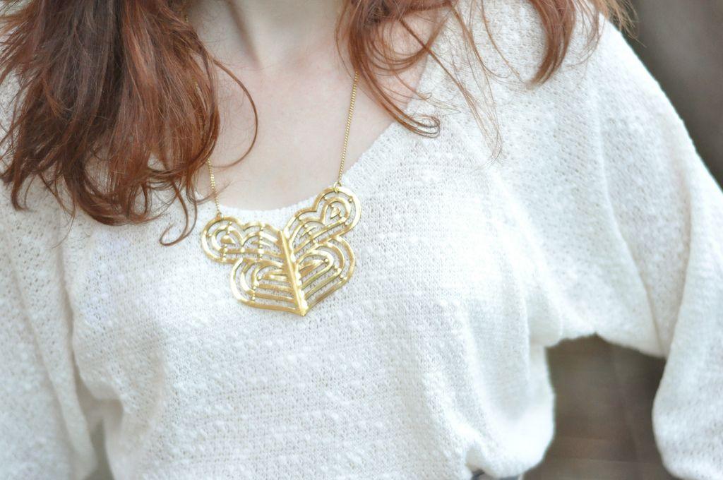 Beautiful necklace.
