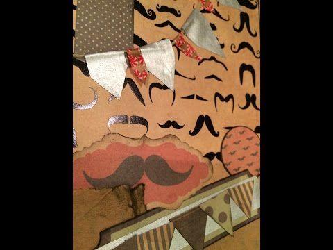 ▶ Scrapbook Schoko-Geschenk-Geburtstagskarte DIY [Tutorial] - YouTube