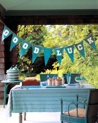 """See the """"Good Luck Banner"""" in our Graduation Party Crafts and Decorations gallery"""
