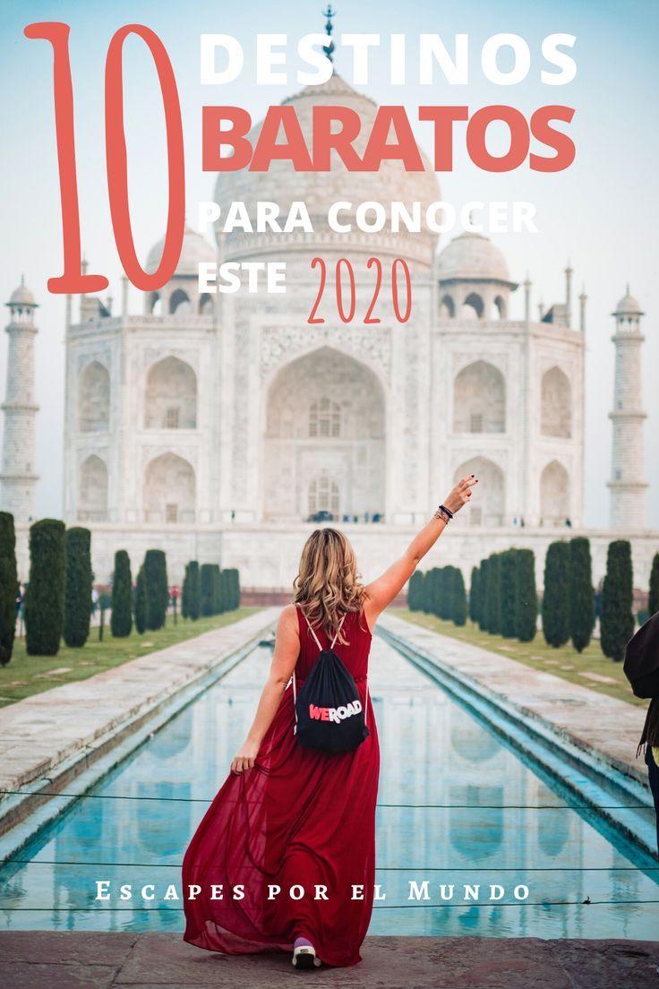 10 destinos baratos para conocer este 2020, agregalos a tu lista de viaje y descubre lugares increíbles en el mundo por menos de $35 #escapesporelmundo #destinosbaratos #viajesbaratos #viajesincreibles #viajes2020 #turismoresponsable