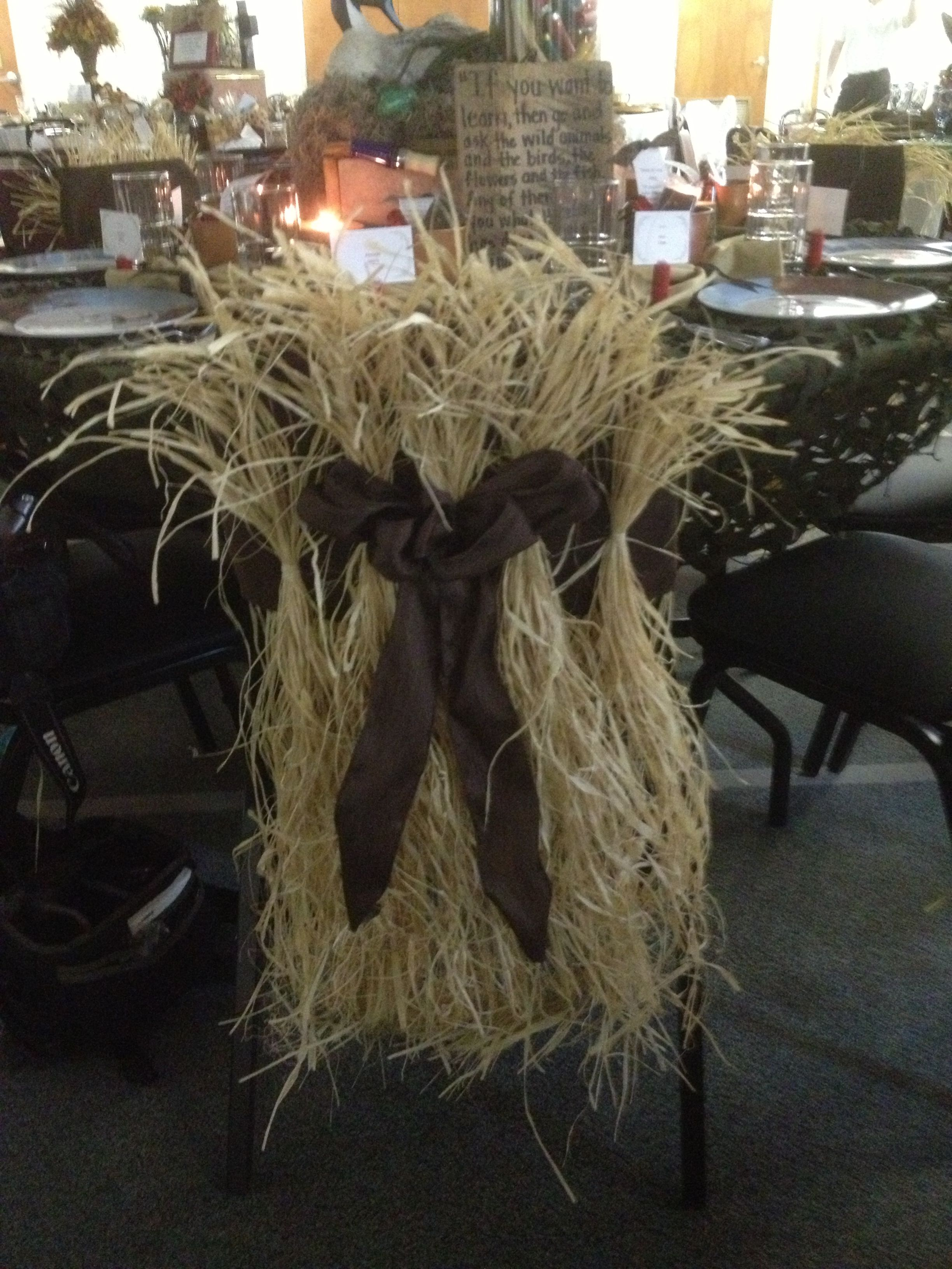 Duck Blind Chair Mid Century Upholstered Dining Chairs Themed Table Decorations Covers My Favorite Part Of