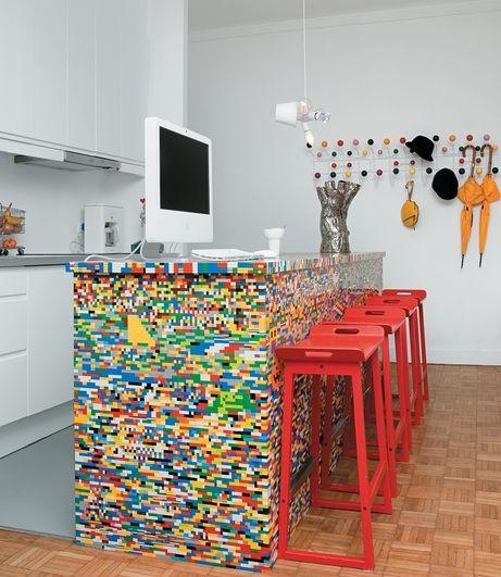 meuble lego home pinterest maison mobilier de salon et lego. Black Bedroom Furniture Sets. Home Design Ideas