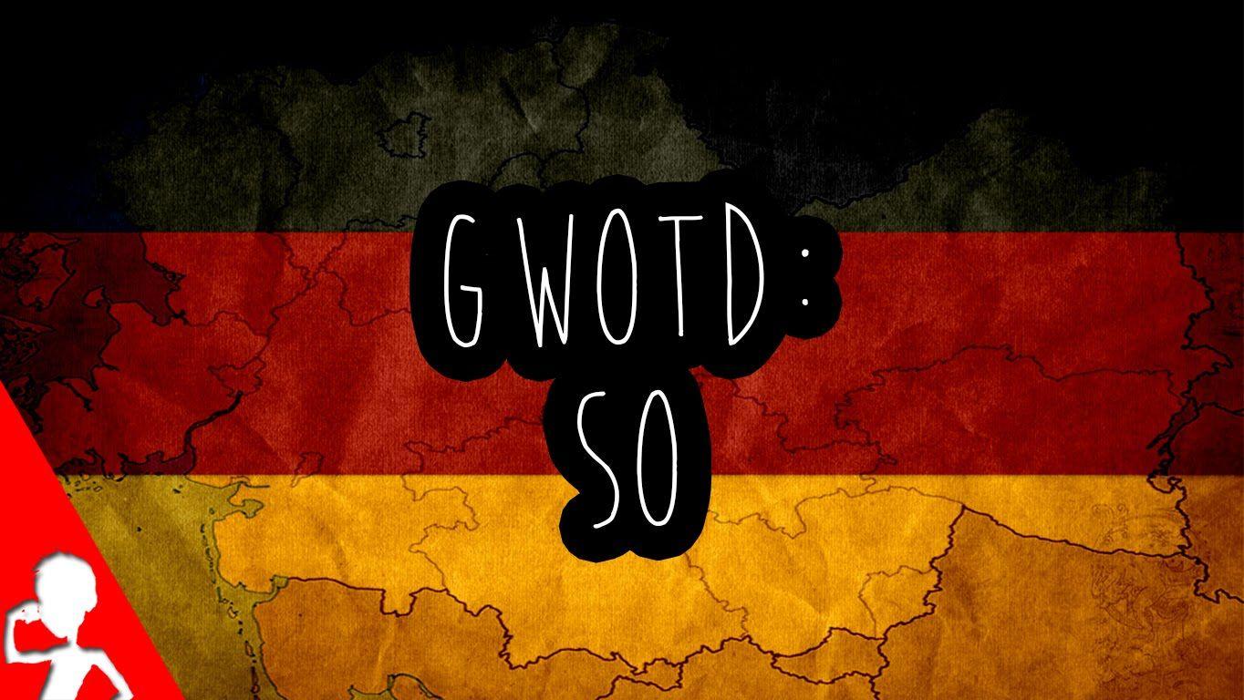 Today's #German word of the day is: so  So can be used in many different ways! Find out what those are in today's video! So kann auf viele Art und Weisen benutzt werden! Findet im heutigen Video heraus welche das sind!  #gwotd